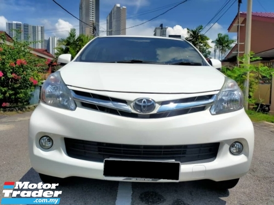 2014 TOYOTA AVANZA 1.5 G ENHANCED (A) ) ONE OWNER LIKE NEW CONDITION
