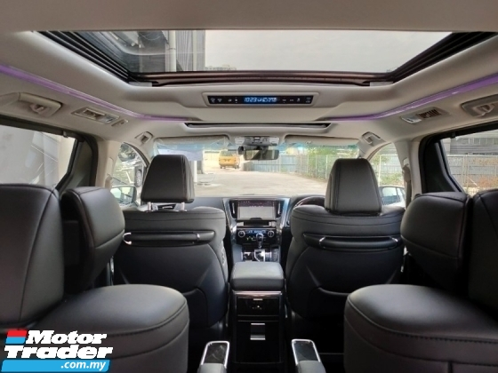 2020 TOYOTA ALPHARD 2.5 SC 3LED Sun Roof BSM DIM PCS LTA Pilot Seat Leather Power Boot 13K KM Unregister