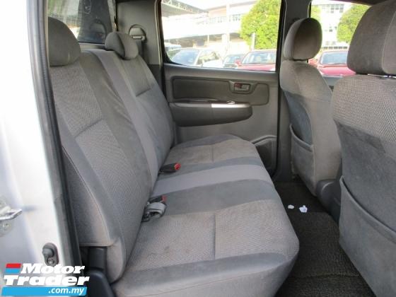 2013 TOYOTA HILUX 2.5 G DOUBLE CAB (M) 4x4 PickUp DieselTurbo