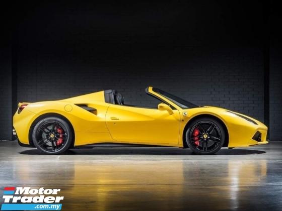 2018 FERRARI 488 SPIDER APPROVED CAR