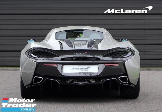 2017 MCLAREN 570 S APPROVED CAR