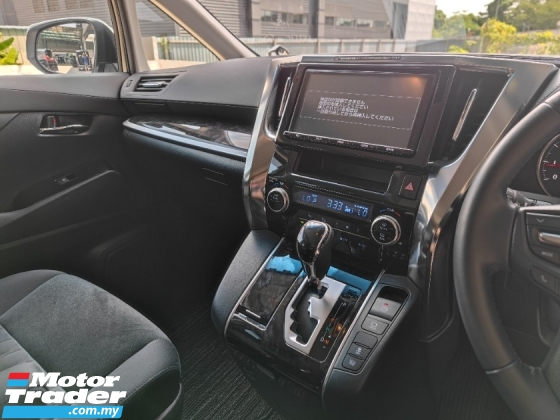 2018 TOYOTA ALPHARD 2.5 S With Modelista Bodykit - Japan Unregistered