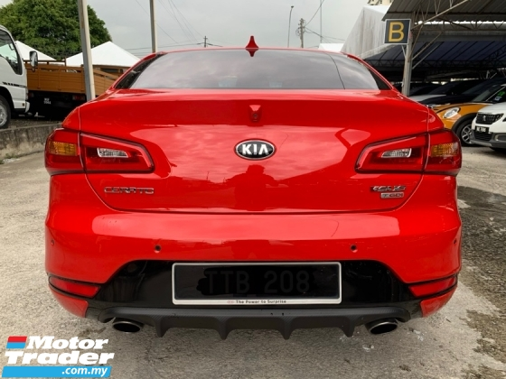 2015 KIA CERATO Koup  1.6T (A) Limited Stock 204HP