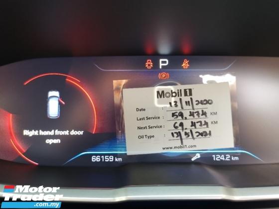 2018 PEUGEOT 3008 Allure THP 1.6 Full Service Under Warranty By Peug