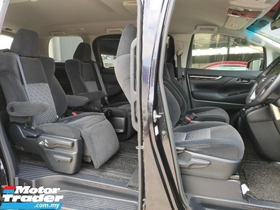 2016 TOYOTA VELLFIRE 2.5 Z 7 Seater Power Door 45K KM Unregister