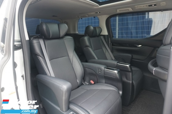 2018 TOYOTA VELLFIRE 3.5 Pilot Seat - Japan Spec Unreg - Good Condition
