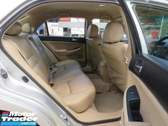 2006 HONDA ACCORD 2.0 (A) VTi FULL LEATHER SEAT HIGH LOAN LIKE NEW
