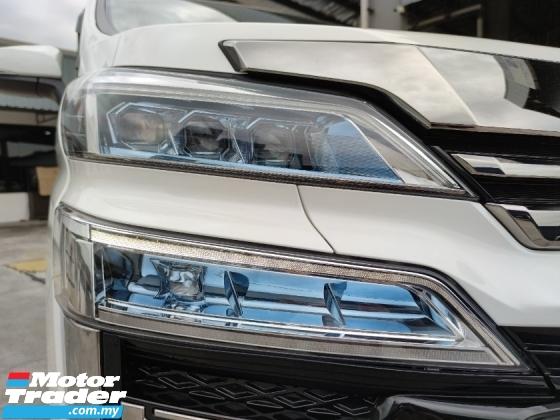 2018 TOYOTA VELLFIRE 2.5 ZG 3 LED Pre Crash LKA Roof Monitor PB Unreg