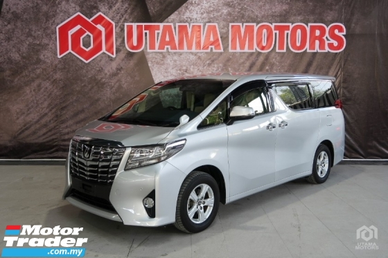 2016 TOYOTA ALPHARD 2.5 X 2PD 8 SEATER SALES TAX SPECIAL OFFER