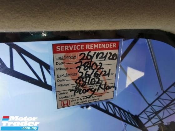 2015 HONDA CITY 1.5 V (A) FULL SERVICES RECORD