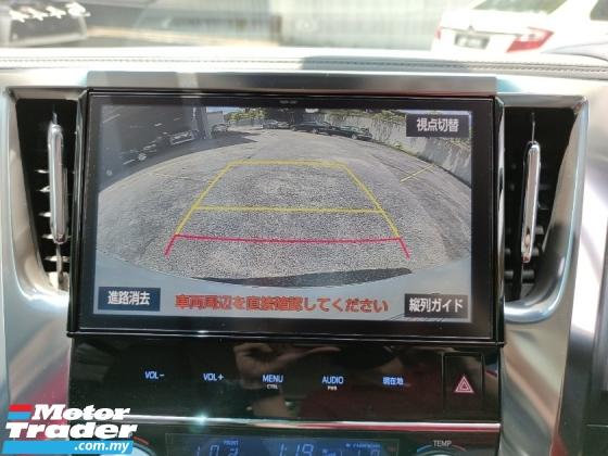 2018 TOYOTA ALPHARD 2.5 SC Pre Crash LKA Unreg