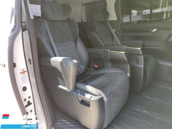 2016 TOYOTA VELLFIRE 2.5 ZG Pre Crash Modelista PB Pilot Seat Unreg