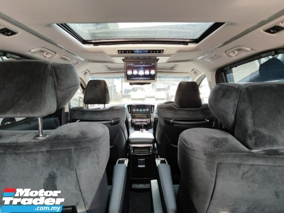 2016 TOYOTA VELLFIRE 2.5 ZG Sunroof PB Roof Monitor Pilot Seat Unreg