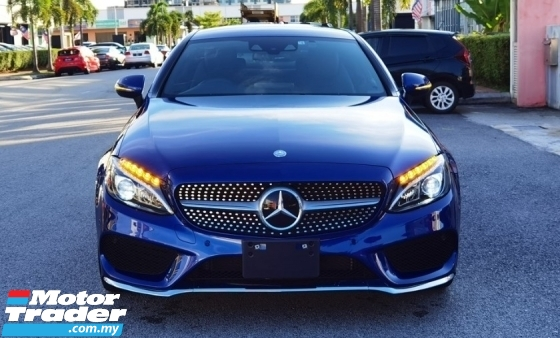 2016 MERCEDES-BENZ C-CLASS 2016 MERCEDES C180 1.6 AMG COUPE SPEC SPORT DYNAMIC 3 DOOR CAR SELLING PRICE RM 188000