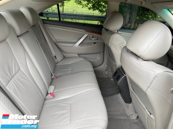 2011 TOYOTA CAMRY 2.4 V FACELIFT (A) Push Start Button Touch Screen