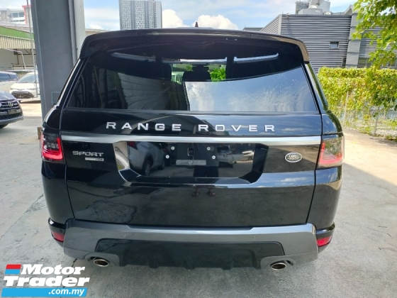 2019 LAND ROVER RANGE ROVER SPORT 2.0 HSE Si4 UK Panaromic Roof Leather Power Boot Unregister