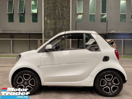2017 SMART FORTWO 900 Turbo Cabriolet *Down Payment Only Rm19,800*