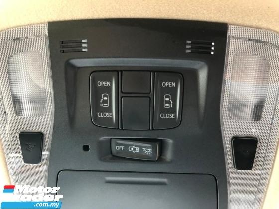 2017 TOYOTA VELLFIRE Toyota Vellfire 2.5 X with 2 power door