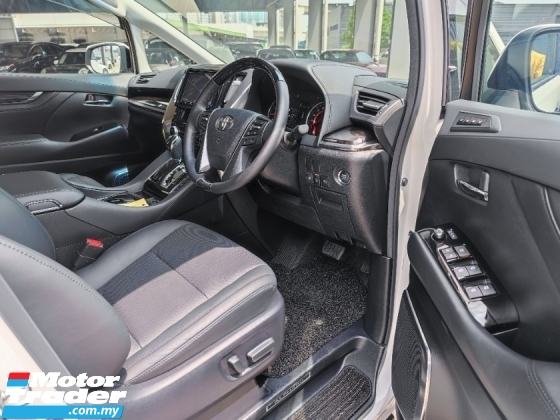 2019 TOYOTA ALPHARD 2.5 SC WHITE 3LED LOW MILEAGE BEST OFFER IN TOWN