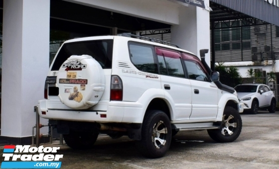2000 TOYOTA LAND CRUISER PADO 2.7(A)(WITH OFF ROAD BODY PARTS)