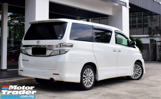 2014 TOYOTA VELLFIRE 2.4 Z FACELIFT(A) WITH NUMBER(3333)(LOW MILEAGES)