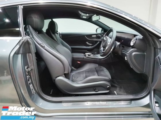 2019 MERCEDES-BENZ E-CLASS E300 AMG COUPE 2.0L TURBOCHARGE 9 SPEED G-TRONIC 245HP