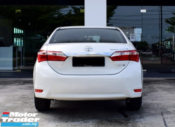 2014 TOYOTA COROLLA ALTIS 2.0G (A)(LOW MILEAGES)(TIPTOP CONDITIONS)