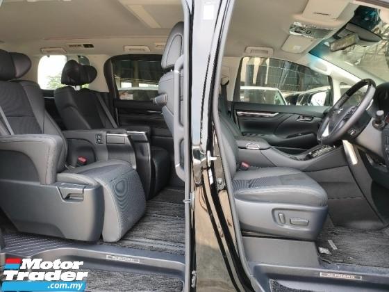 2020 TOYOTA ALPHARD 2.5 SC 3LED JBL 4Cam Display Audio BSM DIM PCS LTA Pilot Seat Leather Power Boot Unregister