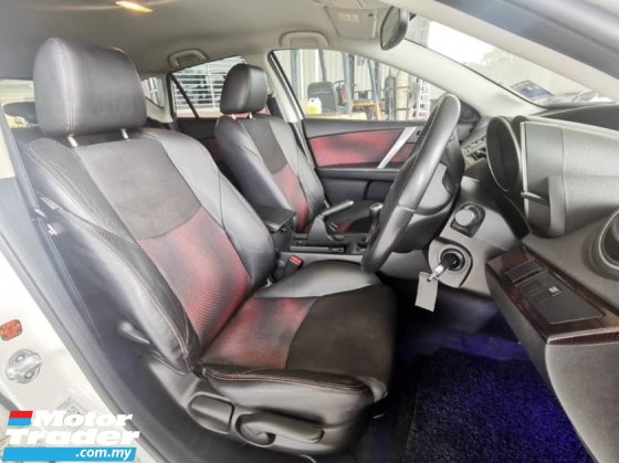 2011 MAZDA 3  2.3 MPS (HATCHBACK) (M) FULL SERVICES RECORD