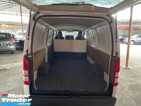 2012 TOYOTA HIACE 2.5 (M) Panel Van Tidy Interior TipTop Condition