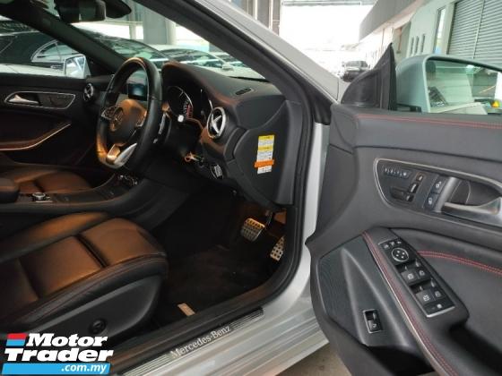 2016 MERCEDES-BENZ CLA 180 AMG Keyless Radar BSM LKA Leather Seat Japan Unregister