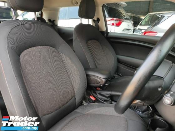 2016 MINI Cooper 1.5 Turbo 3 Door i Drive Japan Unregister