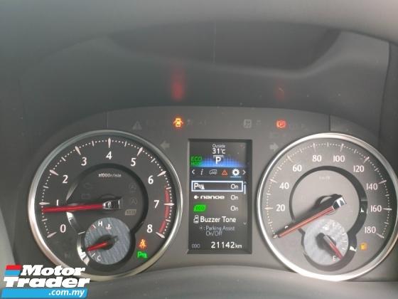 2016 TOYOTA VELLFIRE 2.5 Z 7 Seater Power Door Unregister