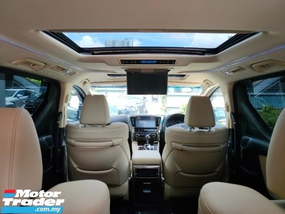 2018 TOYOTA VELLFIRE 2.5 V Spec Sun Roof PCS LTA Power Boot 2 Power Door 7 Seater Leather Unregister