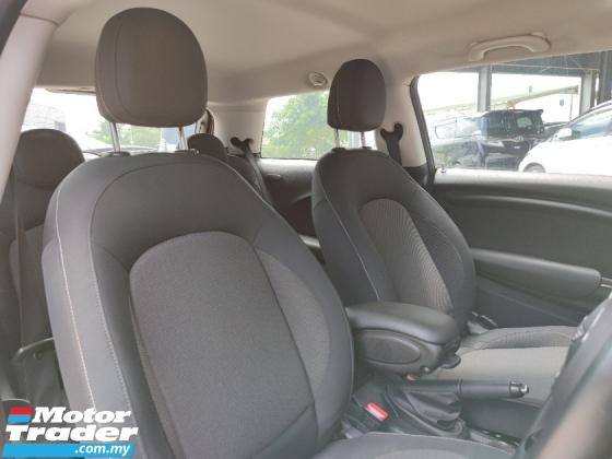 2016 MINI Cooper 1.5 Turbo 3 Door Reverse Camera i Drive JP Unreg