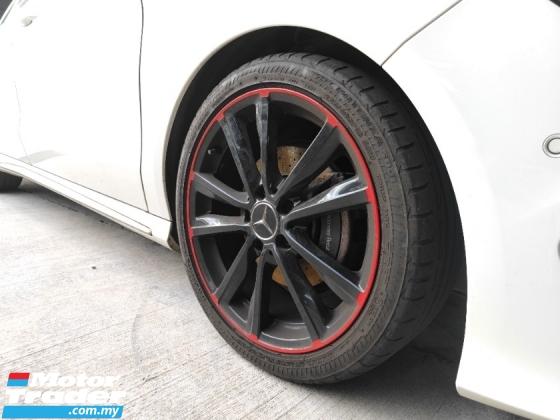 2016 MERCEDES-BENZ CLA 180 AMG - Modified Sport Rim - Japan Unreg
