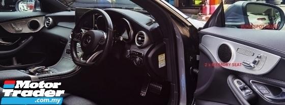 2016 MERCEDES-BENZ C-CLASS 2016 MERCEDES C180 1.6 AMG COUPE SPEC JAPAN UNREG SPORT DYNAMIC CAR SELLING PRICE RM 189000.00