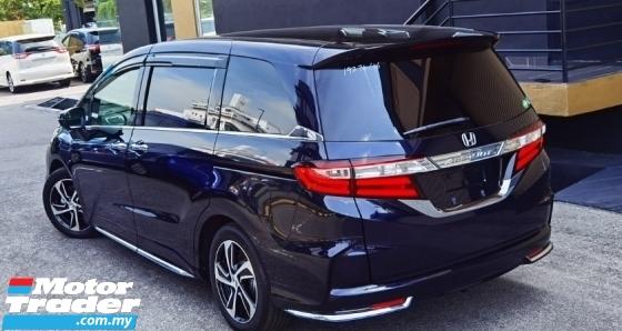 2016 HONDA ODYSSEY 2016 HODNA 2.4 ABSOLUTE EX HONDA SENSING SPEC FACELIFT JAPAN UNREG CAR SELLING PRICE RM 149000
