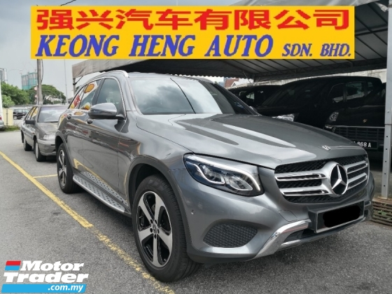 2018 MERCEDES-BENZ GLC GLC200 CKD YEAR MADE 2018 Mil 53k Only Full Service Hap Seng Star Warranty to August 2022