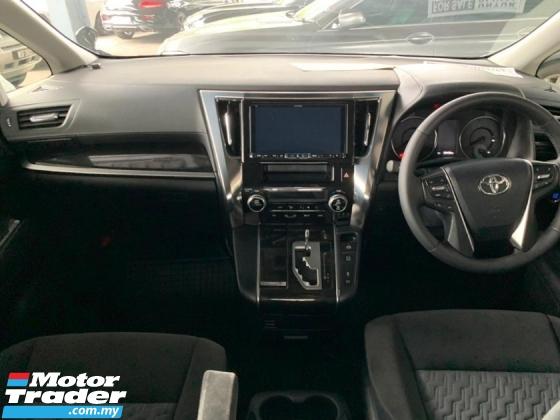 2016 TOYOTA ALPHARD 2.5 Modelista S Edition Full Set Alpine Player 360 Surround Camera Power Boot 2 Power Door 7 Seat