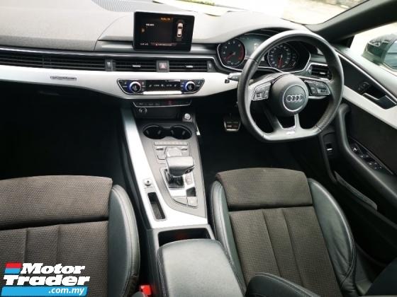 2017 AUDI A5 2.0 TFSI Sportback Quattro Unregister 1 Yr Warrant