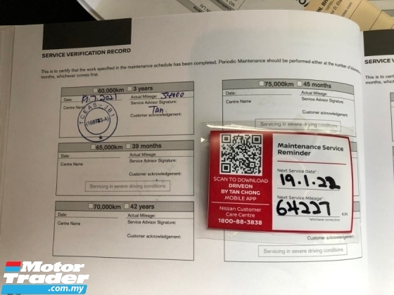 2018 NISSAN NAVARA 2.5L SE (A) SERVICE RECORD CANOPY NO PROCESS FEE