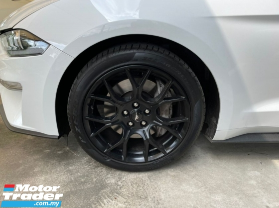 2019 FORD MUSTANG ECO BOOST 2.3L INC SST NO PROCESSING FEE NO HIDDEN CHARGES UNREG