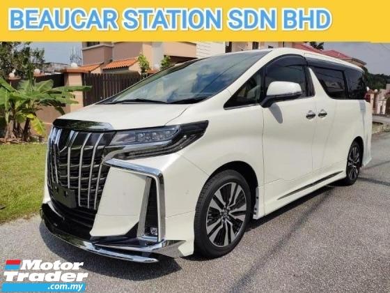 2020 TOYOTA ALPHARD 2.5 SC JBL SURROUND SYSTEM NEW CAR