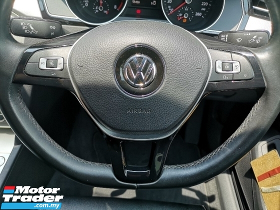 2017 VOLKSWAGEN PASSAT 1.8 TSI (A) 1 OWNER UNDER VW WARRANTY CAR KING