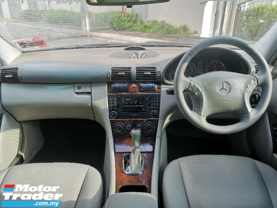2007 MERCEDES-BENZ C-CLASS C200 ELEGANCE 1.8 FACELIFT (A) 1 OWNER LIKE NEW