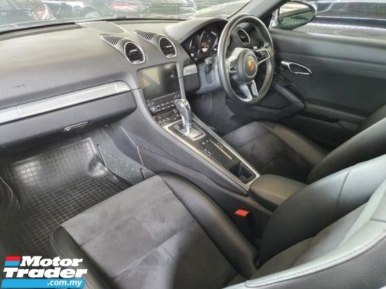 2017 PORSCHE 718 Cayman 2 0 Unreg *Driven 19k mil *300hp