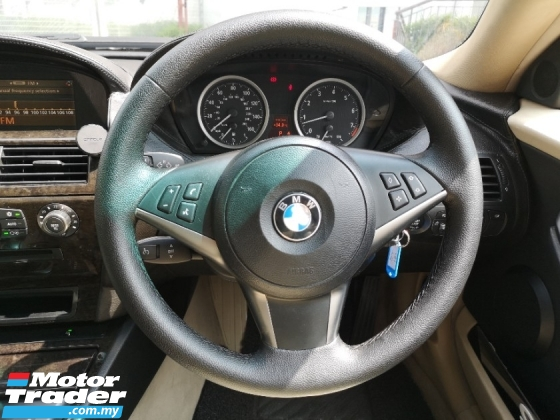 2006 BMW 6 SERIES 630I 3.0 E63 (A) SPORT SUNROOF CONDITION LIKE NEW