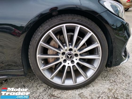 2017 MERCEDES-BENZ C-CLASS 300 AMG Premium Plus Coupe Unregister 2 Yr Warrant