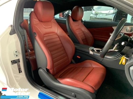 2016 MERCEDES-BENZ C-CLASS C200 AMG Coupe Premium+ UNREG Burmester Full Spec